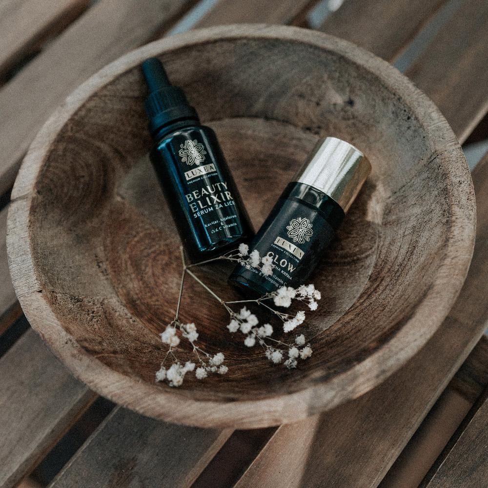trio beauty elixir and glow